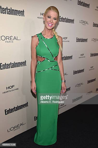 Actress Tara Reid attends the 2015 Entertainment Weekly PreEmmy Party at Fig Olive Melrose Place on September 18 2015 in West Hollywood California