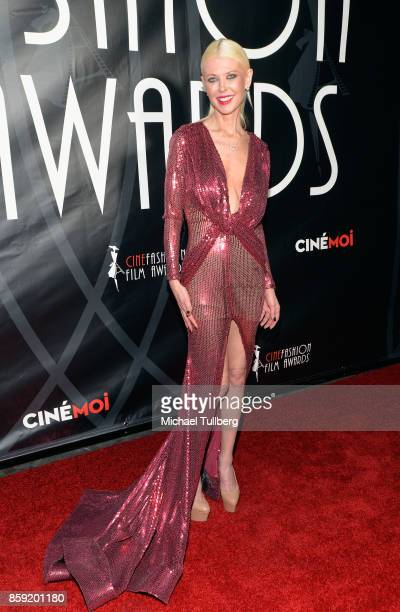 Actress Tara Reid attends the 4th Annual CineFashion Film Awards at El Capitan Theatre on October 8 2017 in Los Angeles California