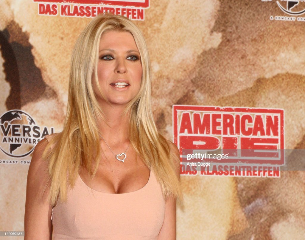 Actress Tara Reid attends the 'American Reunion' Germany Photocall at the Ritz Carlton Hotel on March 29 2012 in Berlin Germany