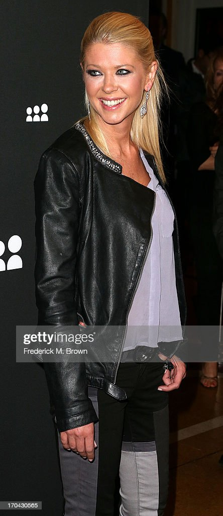Actress Tara Reid attends the Myspace Event at the El Rey Theatre on June 12, 2013 in Los Angeles, California.