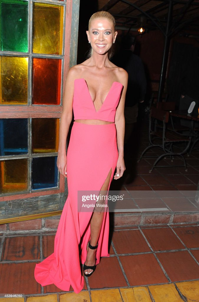 Actress <a gi-track='captionPersonalityLinkClicked' href=/galleries/search?phrase=Tara+Reid&family=editorial&specificpeople=202160 ng-click='$event.stopPropagation()'>Tara Reid</a> attends the premiere after party of The Asylum & Fathom Events' 'Sharknado 2: The Second One' at Figueroa Hotel on August 21, 2014 in Los Angeles, California.
