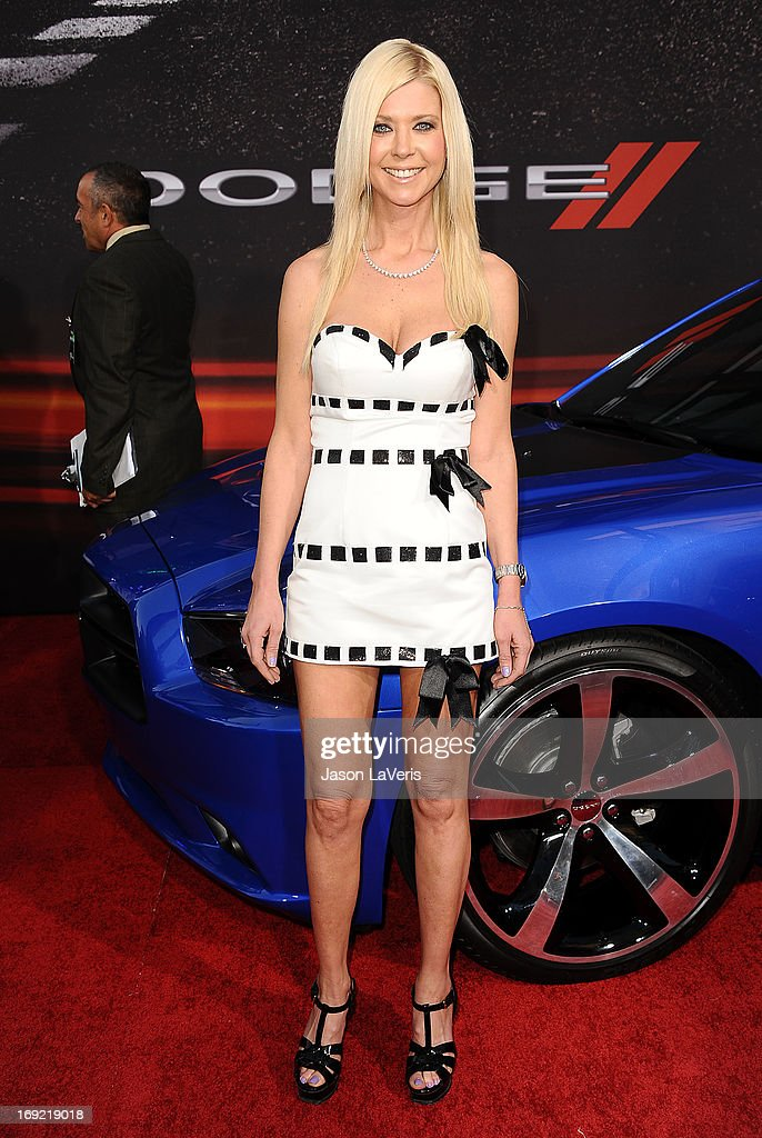 Actress Tara Reid attends the premiere of 'Fast & Furious 6' at Universal CityWalk on May 21, 2013 in Universal City, California.