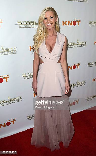 Actress Tara Reid attends the premiere of Starlight Global Films' 'Tie The Knot' at Pacific Theatre at The Grove on May 4 2016 in Los Angeles...