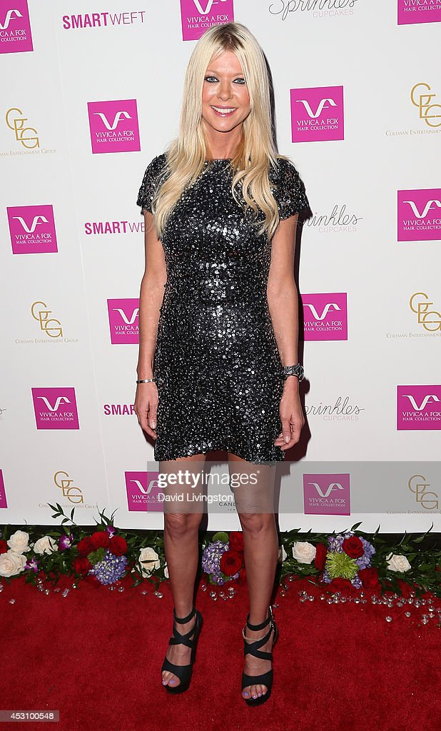 Actress <a gi-track='captionPersonalityLinkClicked' href=/galleries/search?phrase=Tara+Reid&family=editorial&specificpeople=202160 ng-click='$event.stopPropagation()'>Tara Reid</a> attends the Vivica A. Fox 50th birthday celebration at Philippe Chow on August 2, 2014 in Beverly Hills, California.