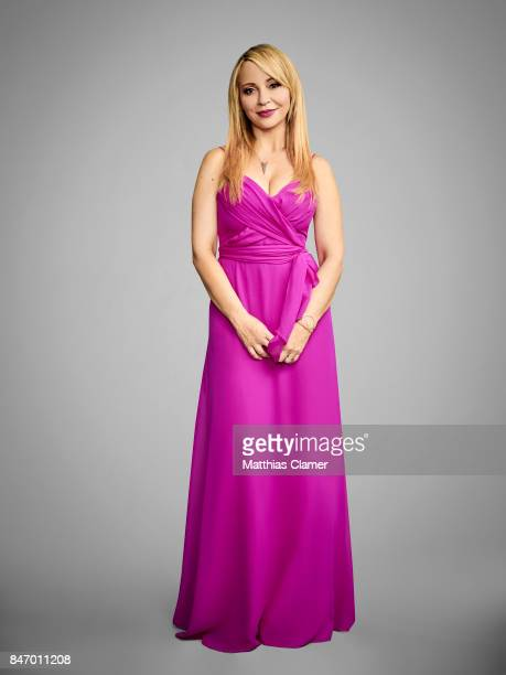 Actress Tara Strong from 'Batman The Killing Joke' is photographed for Entertainment Weekly Magazine on July 22 2016 at Comic Con in the Hard Rock...