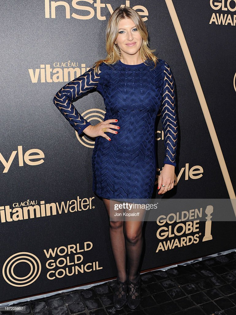 Actress Tara Summers arrives at The Hollywood Foreign Press Association And InStyle Miss Golden Globe 2013 Party at Cecconi's Restaurant on November 29, 2012 in Los Angeles, California.