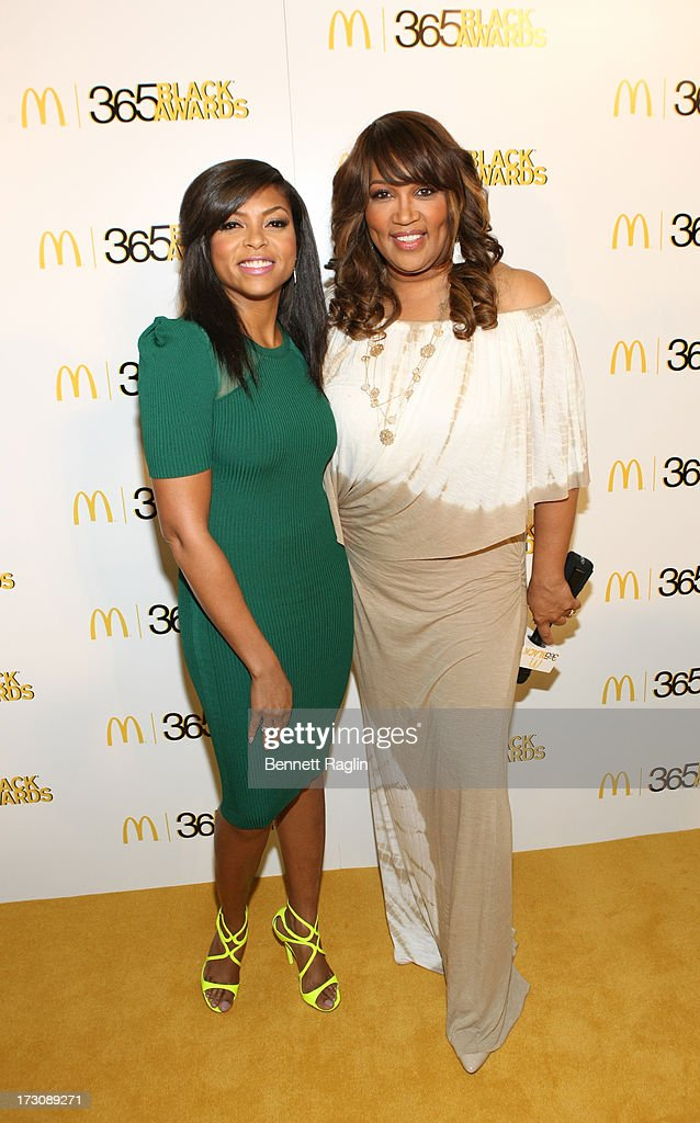 Actress Taraji P. Henson and Kym Whitley attends the 2013 365 Black Awards at the Ernest N. Morial Convention Center on July 6, 2013 in New Orleans, Louisiana.