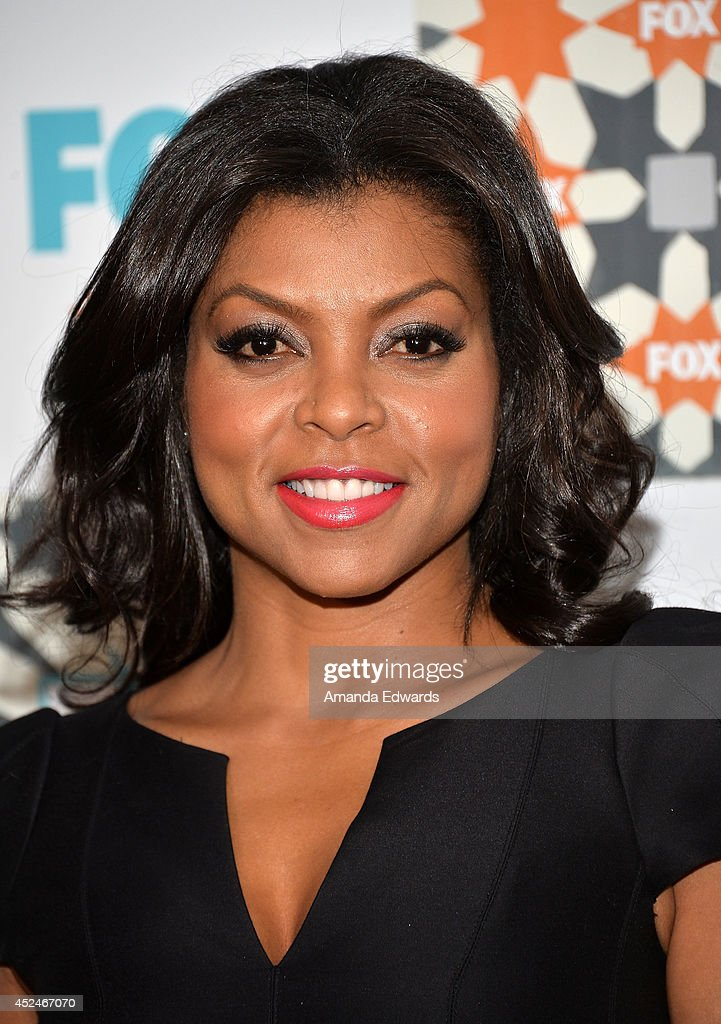 Actress <a gi-track='captionPersonalityLinkClicked' href=/galleries/search?phrase=Taraji+P.+Henson&family=editorial&specificpeople=208823 ng-click='$event.stopPropagation()'>Taraji P. Henson</a> arrives at the 2014 Television Critics Association Summer Press Tour - FOX All-Star Party at Soho House on July 20, 2014 in West Hollywood, California.