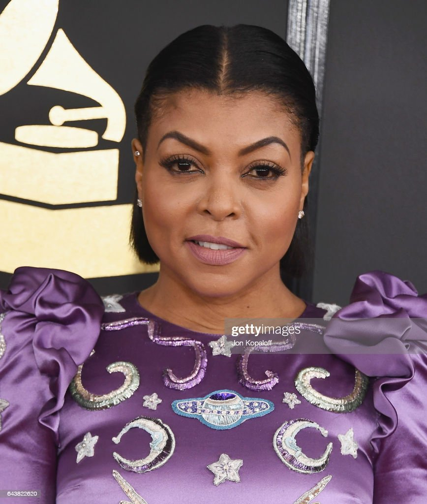 Actress Taraji P. Henson arrives at the 59th GRAMMY Awards at the Staples Center on February 12, 2017 in Los Angeles, California.