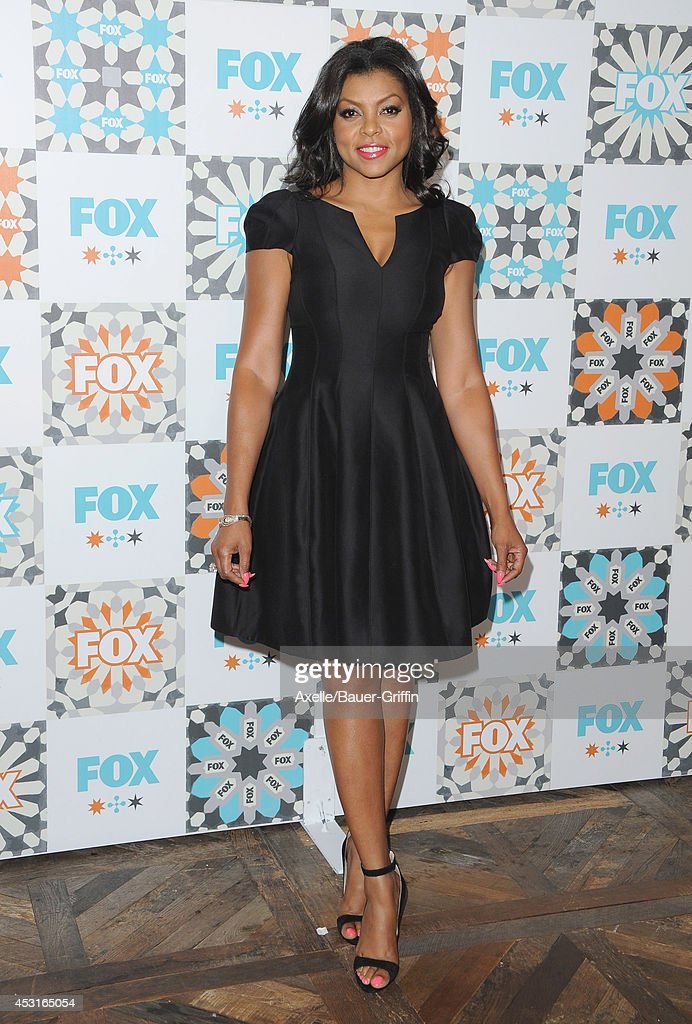 Actress <a gi-track='captionPersonalityLinkClicked' href=/galleries/search?phrase=Taraji+P.+Henson&family=editorial&specificpeople=208823 ng-click='$event.stopPropagation()'>Taraji P. Henson</a> arrives at the FOX All-Star Party 2014 Television Critics Association Summer Press Tour at Soho House on July 20, 2014 in West Hollywood, California.