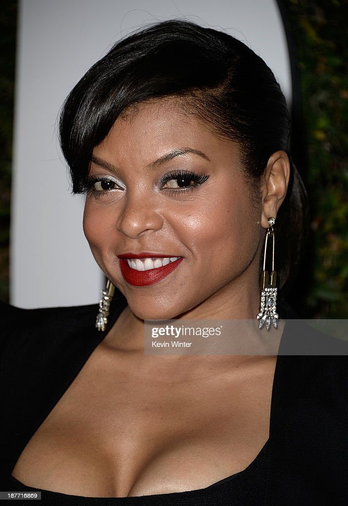 Actress <a gi-track='captionPersonalityLinkClicked' href=/galleries/search?phrase=Taraji+P.+Henson&family=editorial&specificpeople=208823 ng-click='$event.stopPropagation()'>Taraji P. Henson</a> arrives for the premiere of The Weinstein Company's 'Mandela: Long Walk To Freedom' at ArcLight Cinemas on November 11, 2013 in Hollywood, California.
