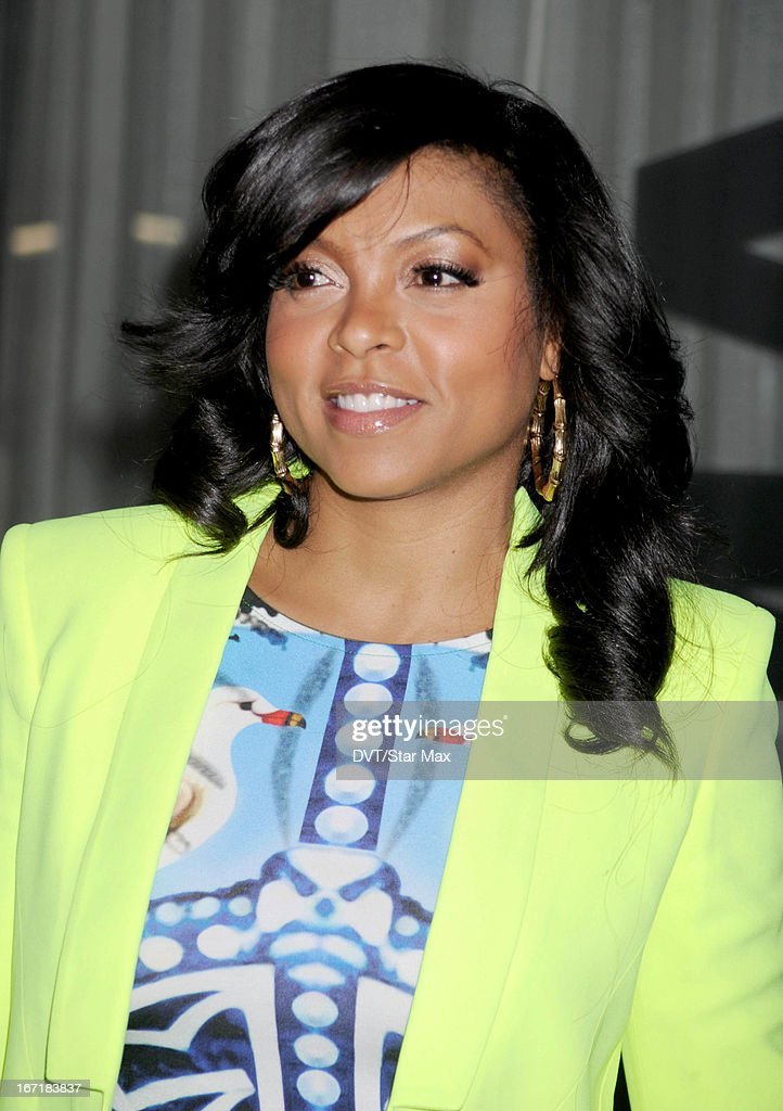 Actress Taraji P. Henson as seen on April 21, 2013 in New York City.