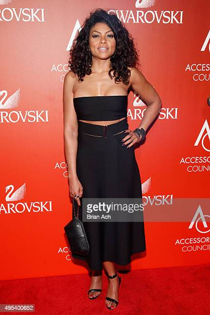 Actress Taraji P Henson attends 19th Annual Accessories Council ACE Awards on November 2 2015 in New York City