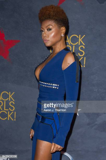 Actress Taraji P Henson attends Black Girls Rock at New Jersey Performing Arts Center on August 5 2017 in Newark New Jersey