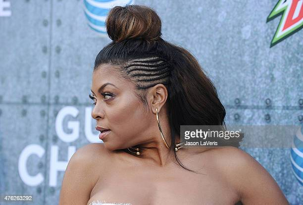 Actress Taraji P Henson attends Spike TV's 'Guys Choice 2015' at Sony Pictures Studios on June 6 2015 in Culver City California