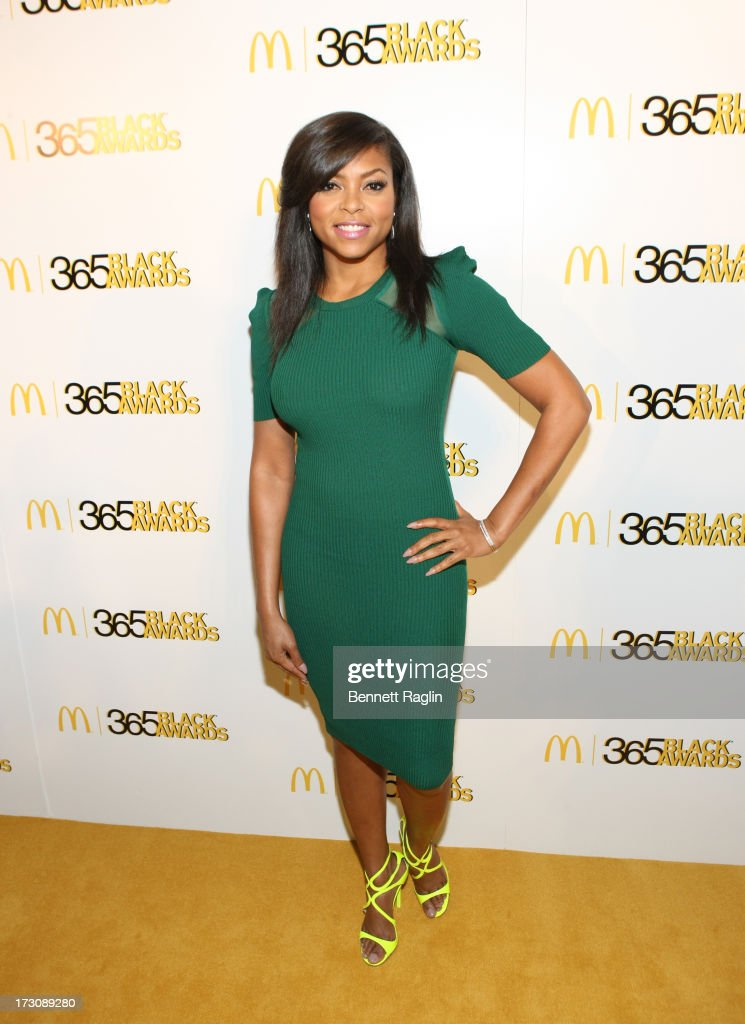 Actress <a gi-track='captionPersonalityLinkClicked' href=/galleries/search?phrase=Taraji+P.+Henson&family=editorial&specificpeople=208823 ng-click='$event.stopPropagation()'>Taraji P. Henson</a> attends the 2013 365 Black Awards at the Ernest N. Morial Convention Center on July 6, 2013 in New Orleans, Louisiana.
