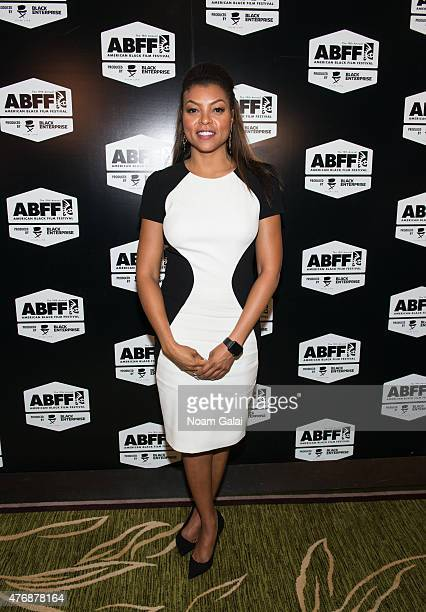 Actress Taraji P Henson attends the 2015 American Black Film Festival at New York Hilton Grand Ballroom on June 12 2015 in New York City