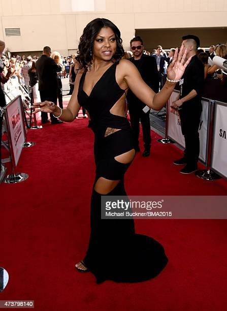 Actress Taraji P Henson attends the 2015 Billboard Music Awards at MGM Grand Garden Arena on May 17 2015 in Las Vegas Nevada