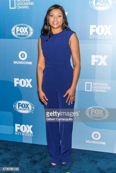 Actress Taraji P Henson attends the 2015 FOX Programming Presentation at Wollman Rink Central Park on May 11 2015 in New York City
