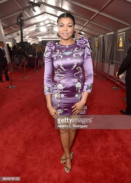 Actress Taraji P Henson attends The 59th GRAMMY Awards at STAPLES Center on February 12 2017 in Los Angeles California