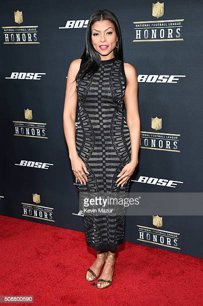 Actress Taraji P Henson attends the 5th annual NFL Honors at Bill Graham Civic Auditorium on February 6 2016 in San Francisco California