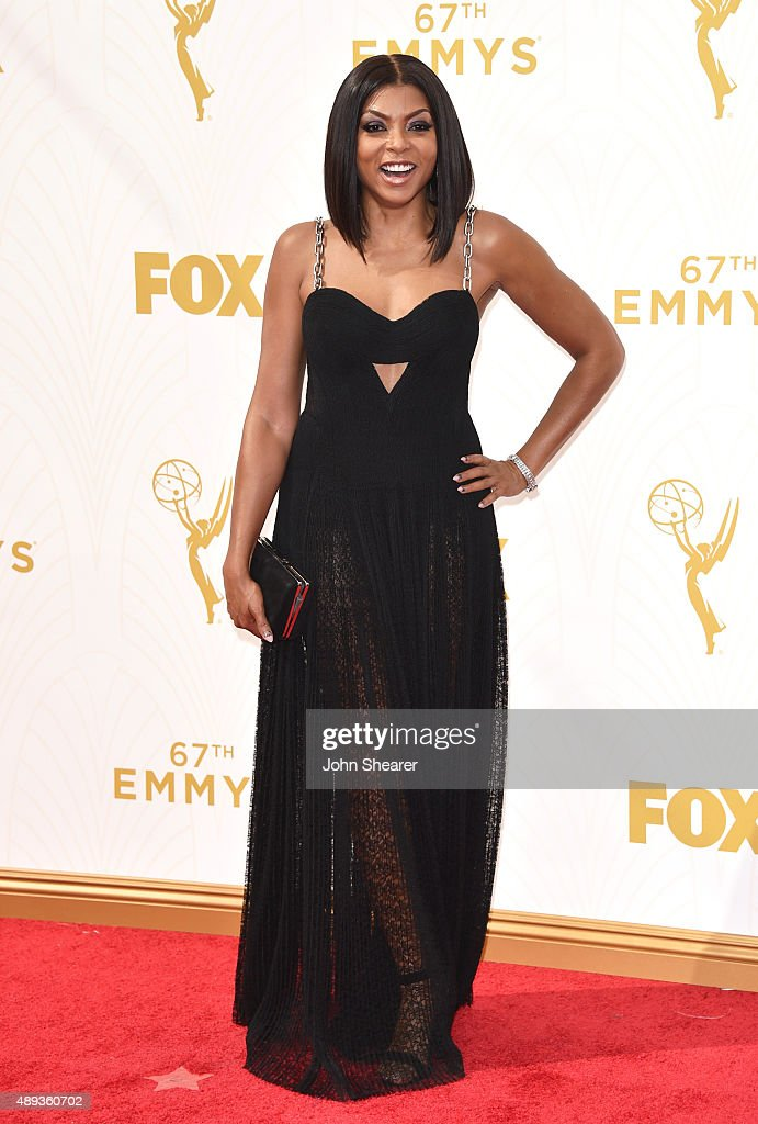 Actress Taraji P. Henson attends the 67th Annual Primetime Emmy Awards at Microsoft Theater on September 20, 2015 in Los Angeles, California.