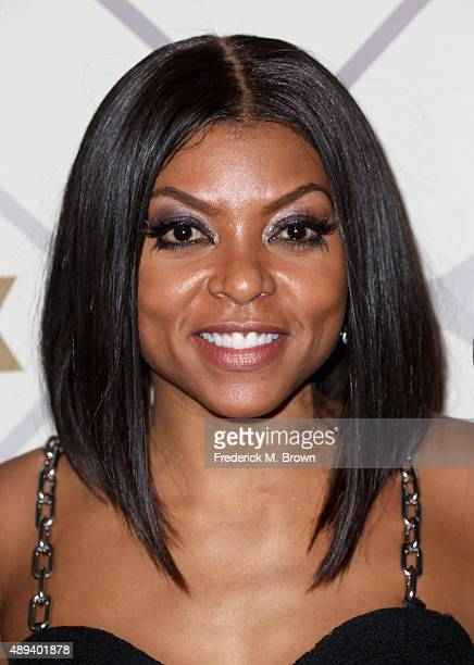 Actress Taraji P Henson attends the 67th Primetime Emmy Awards Fox after party on September 20 2015 in Los Angeles California