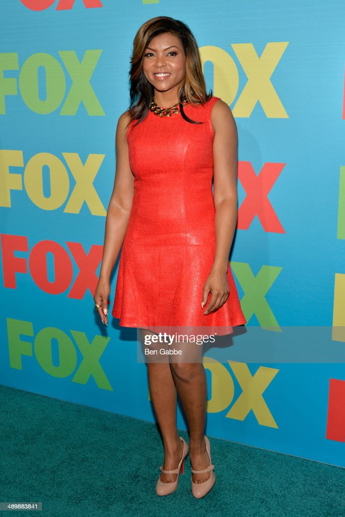 Actress <a gi-track='captionPersonalityLinkClicked' href=/galleries/search?phrase=Taraji+P.+Henson&family=editorial&specificpeople=208823 ng-click='$event.stopPropagation()'>Taraji P. Henson</a> attends the FOX 2014 Programming Presentation at the FOX Fanfront on May 12, 2014 in New York City.