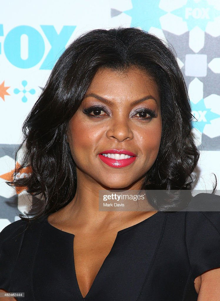 Actress <a gi-track='captionPersonalityLinkClicked' href=/galleries/search?phrase=Taraji+P.+Henson&family=editorial&specificpeople=208823 ng-click='$event.stopPropagation()'>Taraji P. Henson</a> attends the Fox Summer TCA All-Star party held at the SOHO house on July 20, 2014 in West Hollywood, California.