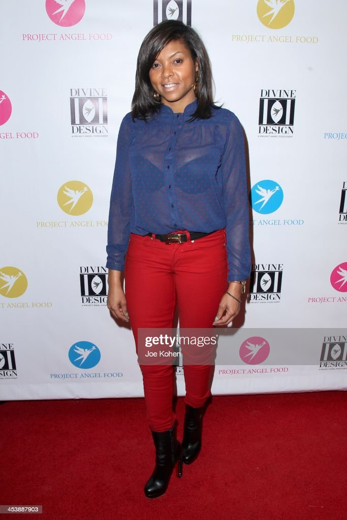 Actress <a gi-track='captionPersonalityLinkClicked' href=/galleries/search?phrase=Taraji+P.+Henson&family=editorial&specificpeople=208823 ng-click='$event.stopPropagation()'>Taraji P. Henson</a> attends the Opening Night Party For Divine Design 2013 on December 5, 2013 in Beverly Hills, California.