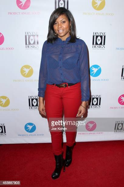 Actress Taraji P Henson attends the Opening Night Party For Divine Design 2013 on December 5 2013 in Beverly Hills California