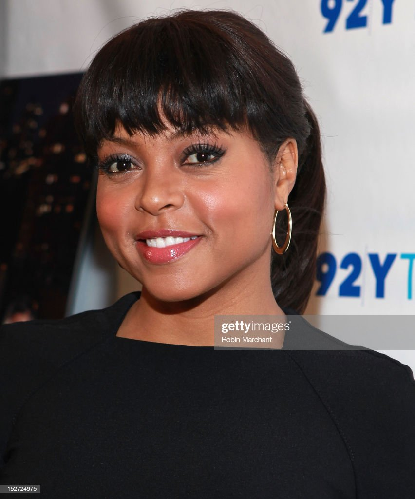 Actress Taraji P. Henson attends the 'Person Of Interest' preview screening and Q&A at92Y Tribeca on September 24, 2012 in New York City.