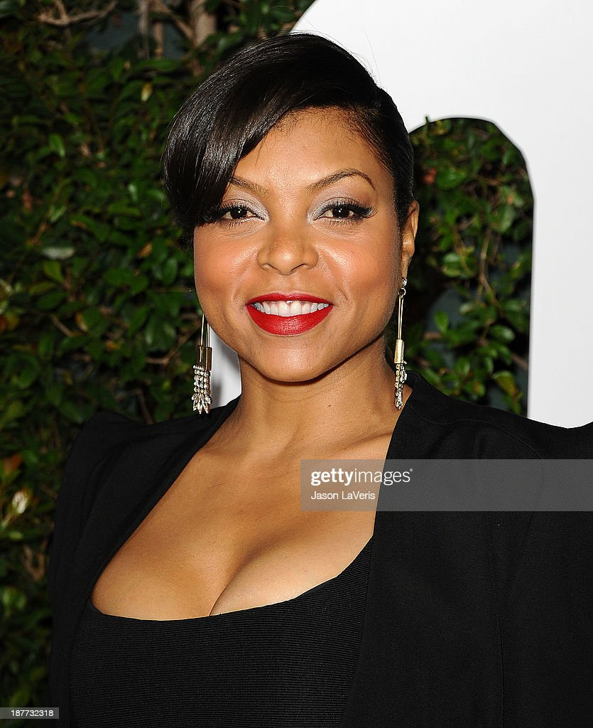 Actress <a gi-track='captionPersonalityLinkClicked' href=/galleries/search?phrase=Taraji+P.+Henson&family=editorial&specificpeople=208823 ng-click='$event.stopPropagation()'>Taraji P. Henson</a> attends the premiere of 'Mandela: Long Walk To Freedom' at ArcLight Cinemas Cinerama Dome on November 11, 2013 in Hollywood, California.