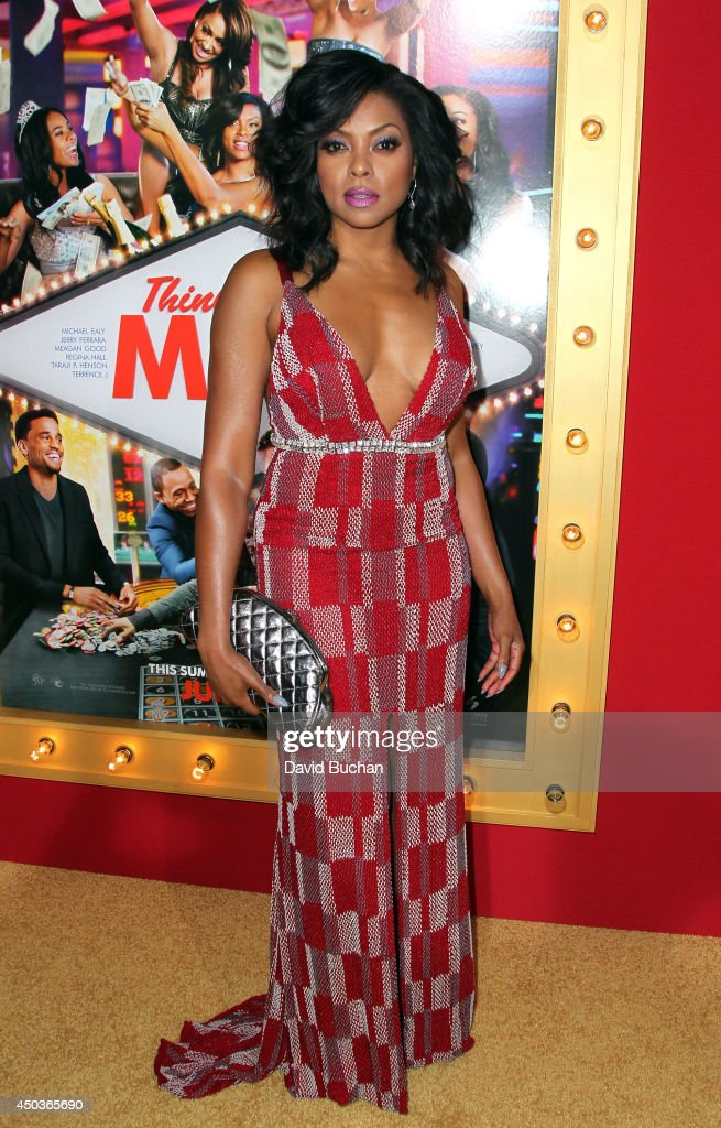 Actress <a gi-track='captionPersonalityLinkClicked' href=/galleries/search?phrase=Taraji+P.+Henson&family=editorial&specificpeople=208823 ng-click='$event.stopPropagation()'>Taraji P. Henson</a> attends the Premiere Of Screen Gems' 'Think Like A Man Too' at TCL Chinese Theatre on June 9, 2014 in Hollywood, California.
