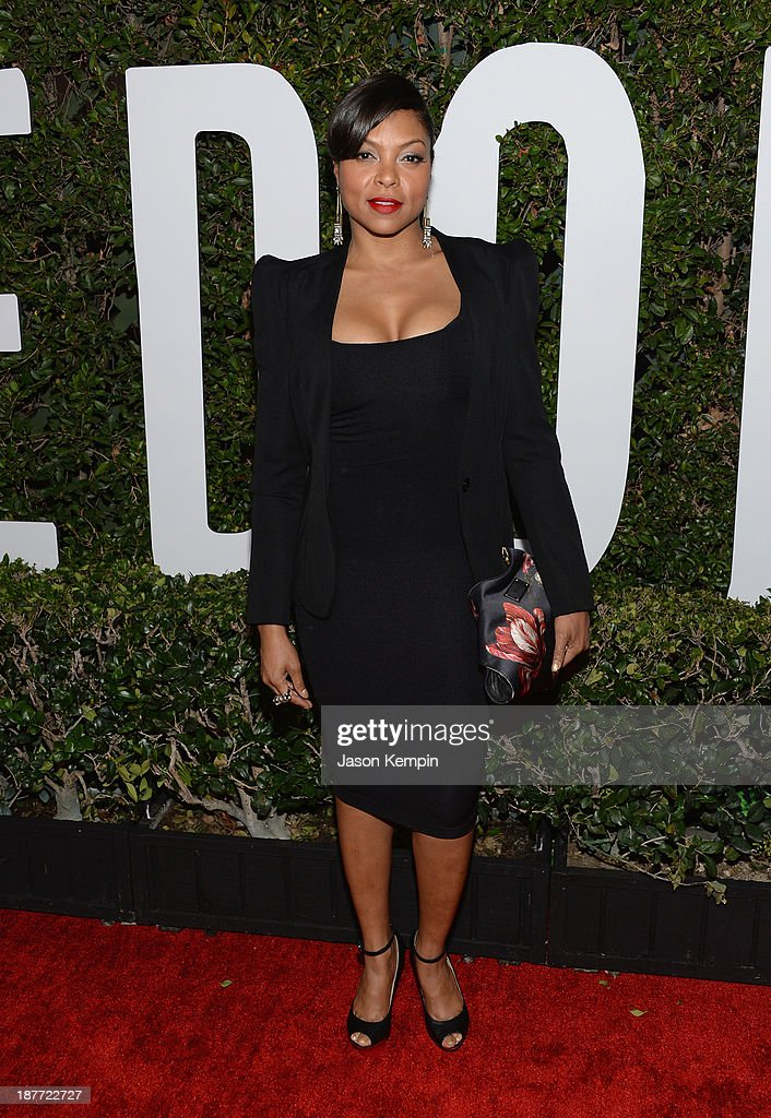 Actress Taraji P. Henson attends the premiere of The Weinstein Company's 'Mandela: Long Walk To Freedom' at ArcLight Cinemas on November 11, 2013 in Hollywood, California.