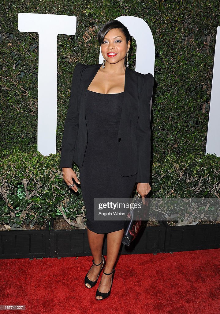 Actress Taraji P. Henson attends the premiere of The Weinstein Company's 'Mandela: Long Walk To Freedom' at ArcLight Cinemas Cinerama Dome on November 11, 2013 in Hollywood, California.