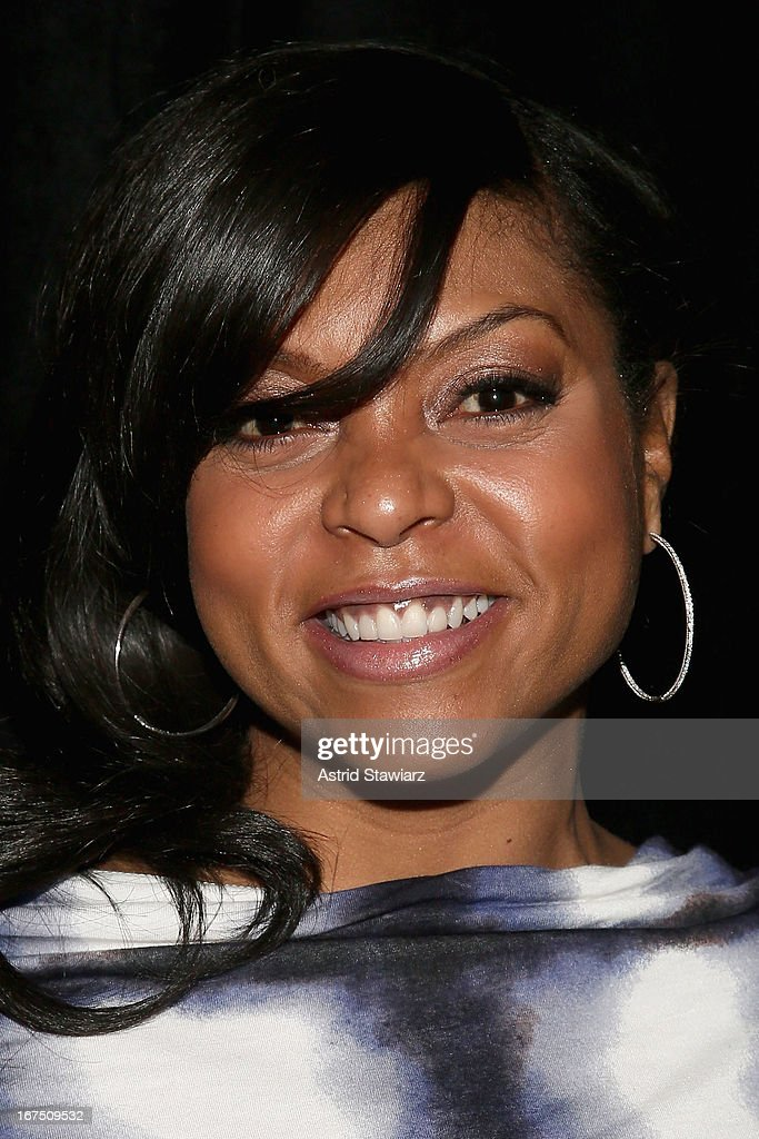 Actress Taraji P. Henson attends the TFF Awards Night during the 2013 Tribeca Film Festival on April 25, 2013 in New York City.