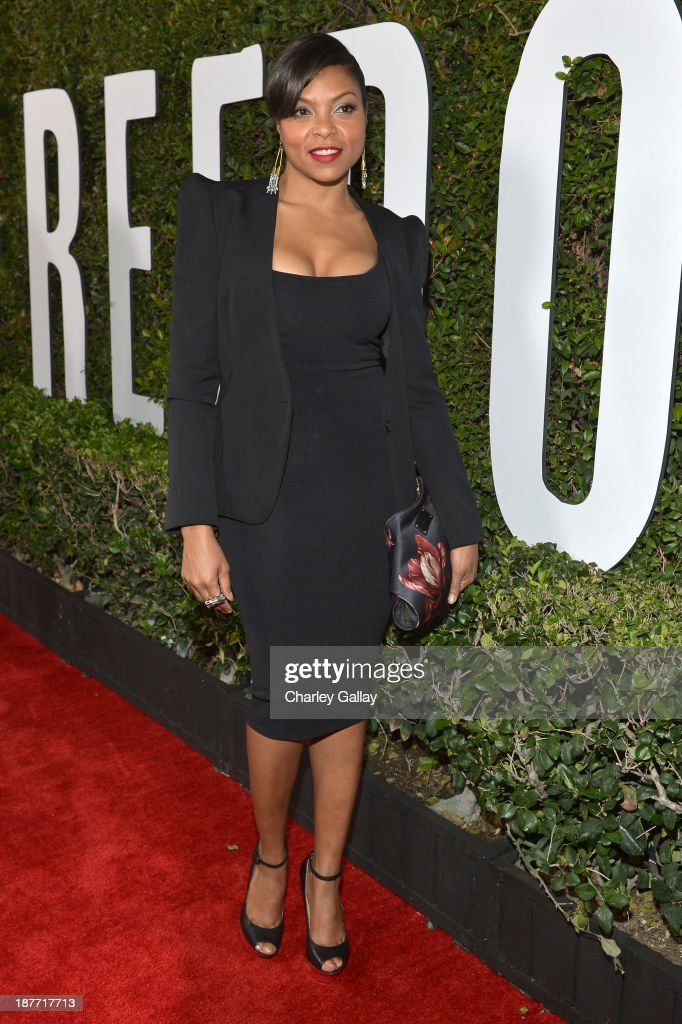 Actress Taraji P. Henson attends 'The Weinstein Company Presents The LA Premiere Of 'Mandela: Long Walk To Freedom' Supported By Burberry' at ArcLight Hollywood Cinerama Dome on November 11, 2013 in Los Angeles, California.