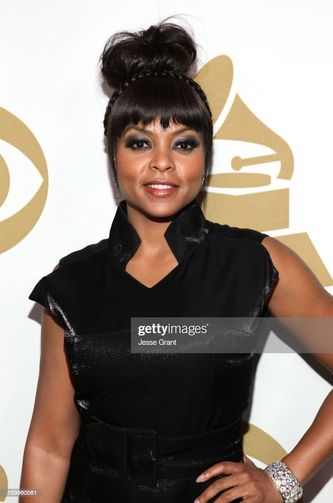 Actress Taraji P. Henson attends 'We Will Always Love You: A GRAMMY Salute to Whitney Houston' at Nokia Theatre L.A. Live on October 11, 2012 in Los Angeles, California.