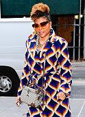NY: Celebrity Sightings In New York City - January 24, 2020