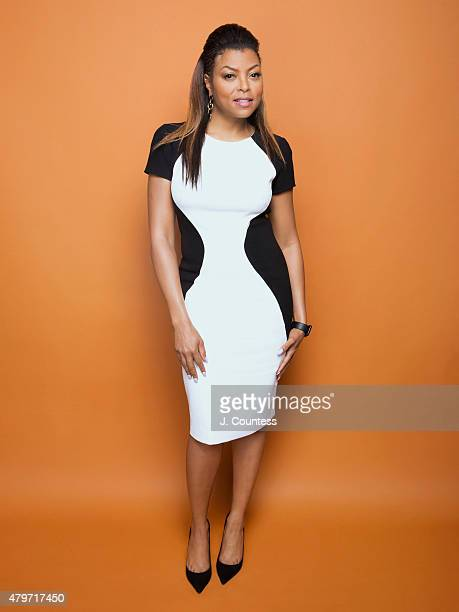 Actress Taraji P Henson poses for a portrait at the American Black Film Festival on June 12 2015 in New York City