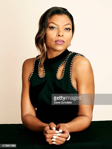 Actress Taraji P Henson poses for a portrait during the 5th Annual Critics' Choice Television Awards at The Beverly Hilton Hotel on May 31 2015 in...