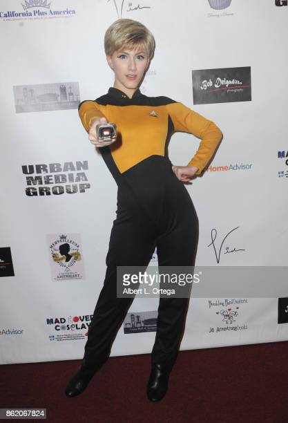 Actress TaraNicole Azarian attends Halloween Hotness 4 Heating Up For The Cure held at American Legion Hall on October 15 2017 in Los Angeles...