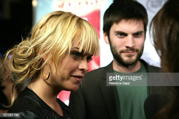 Actress Taryn Manning and Actor Wes Bentley at the ET Canada 2nd Anniversary Party at The 32nd Annual Toronto International Film Festival on...