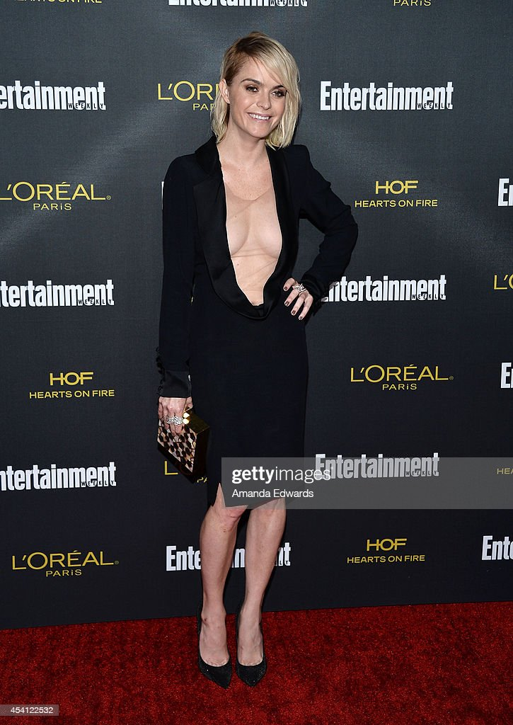Actress Taryn Manning arrives at the 2014 Entertainment Weekly Pre-Emmy Party at Fig & Olive Melrose Place on August 23, 2014 in West Hollywood, California.