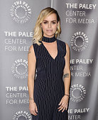 Actress Taryn Manning attends an evening with 'Orange Is The New Black' at The Paley Center for Media on May 26 2016 in Beverly Hills California