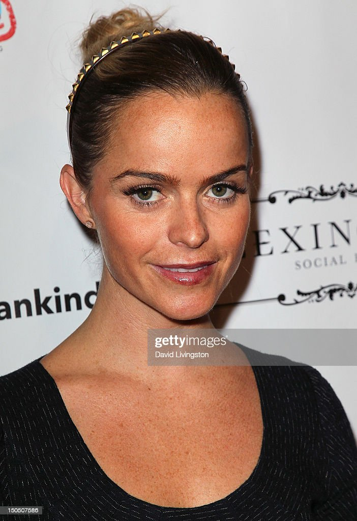 Actress <a gi-track='captionPersonalityLinkClicked' href=/galleries/search?phrase=Taryn+Manning&family=editorial&specificpeople=202146 ng-click='$event.stopPropagation()'>Taryn Manning</a> attends Friends to Mankind's 2nd annual 18 For 18 charity event and fundraiser 'The Jump' benefitting the Somaly Mam Foundation at Lexington Social House on August 19, 2012 in Hollywood, California.