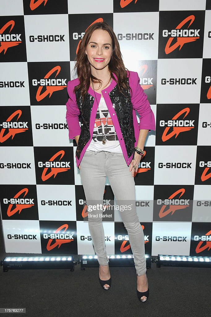 Actress Taryn Manning attends G-Shock Shock The World 2013 at Basketball City on August 7, 2013 in New York City.