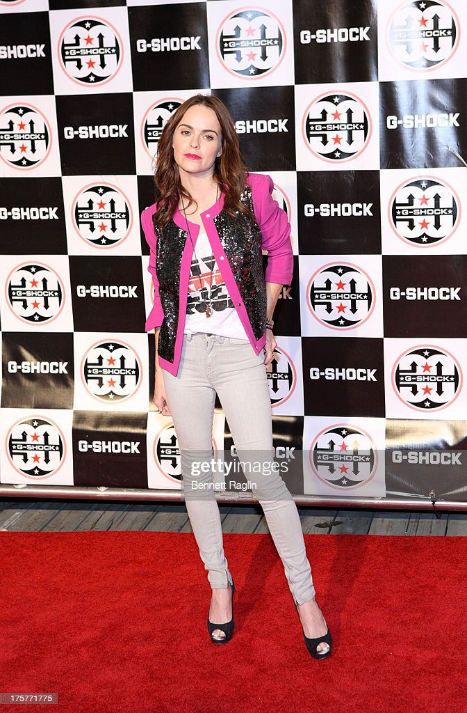 Actress Taryn Manning attends G-Shock - Shock The World 2013 at Basketball City - Pier 36 - South Street on August 7, 2013 in New York City.