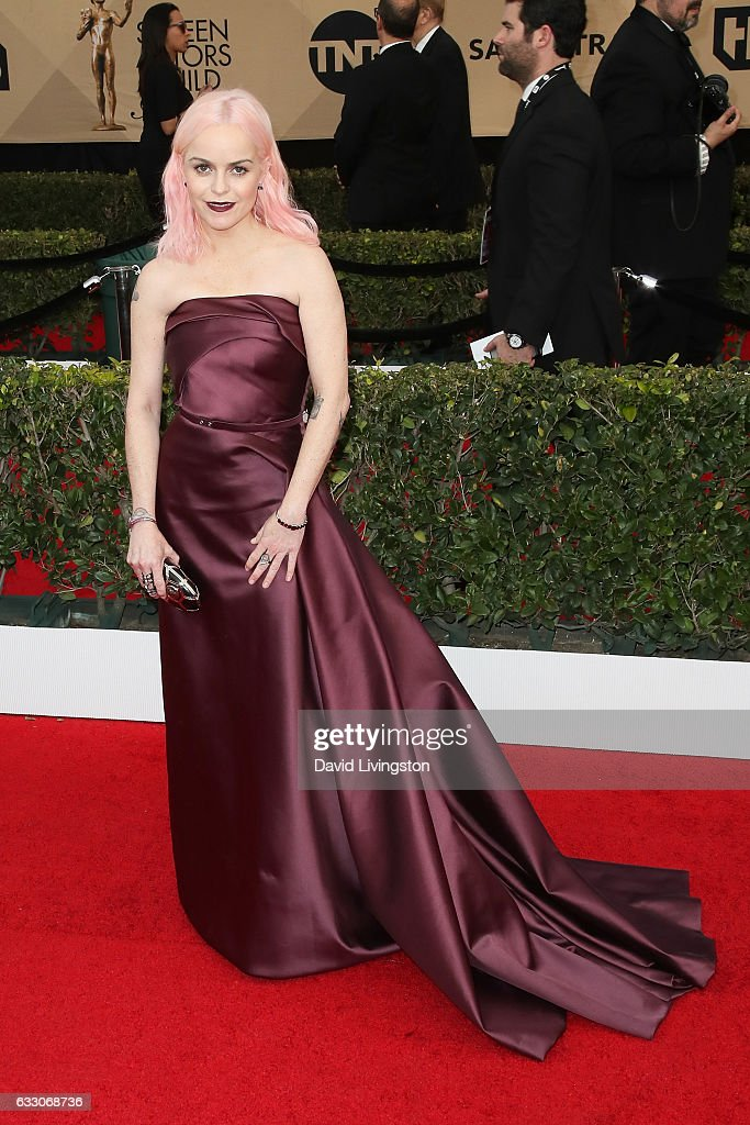 Actress Taryn Manning attends the 23rd Annual Screen Actors Guild Awards at The Shrine Expo Hall on January 29, 2017 in Los Angeles, California.